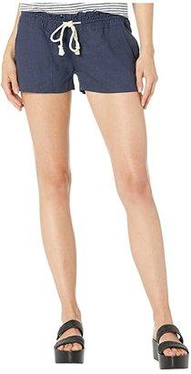 Roxy Oceanside Short (Olive) Women's Shorts