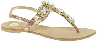 River Island Jewelled Sandals