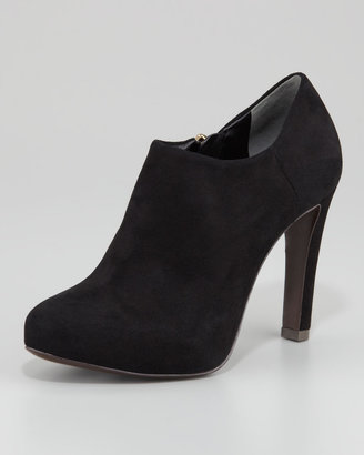 Tory Burch Malone Suede Bootie, Black