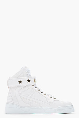 Givenchy Pale beige Grained Goat leather sneakers