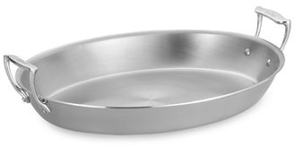"""Bed Bath & Beyond All-Clad 17"""" Large Stainless Steel Oval Au Gratin"""