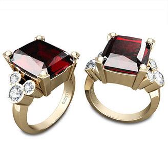 Disney Mickey Mouse January Birthstone Diamond Ring by Jostens