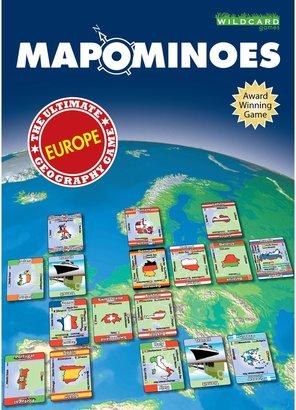 Wildcard Games Mapominoes Europe Dominoes Card Game