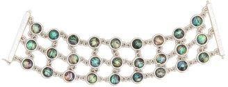 Lucky Brand Oceanic Ways Bracelet JLRU8333 (Silver) - Jewelry
