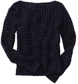 Gap Sparkle open-stitch sweater