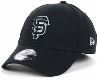 New Era San Francisco Giants Black and White Classic 39THIRTY Stretch-Fitted Cap $29.99 thestylecure.com