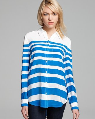 Equipment Blouse - Lucky Stripe Printed Reese