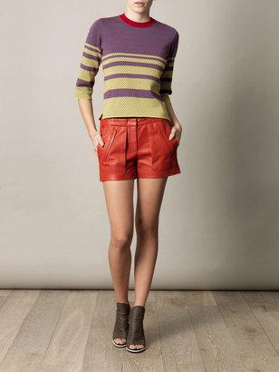 Kenzo Jacquard intarsia knit sweater