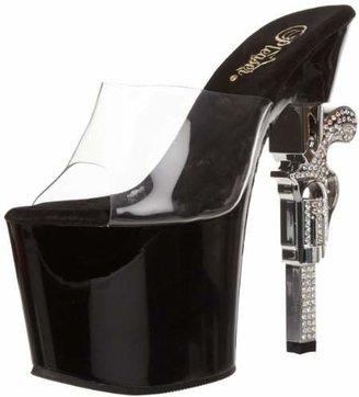 Pleaser USA Women's Revolver-701 Platform Sandal