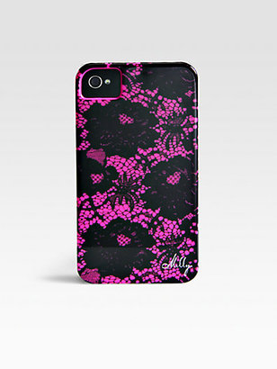 Milly Floral Lace Print Hardcase For iPhone 4/4s