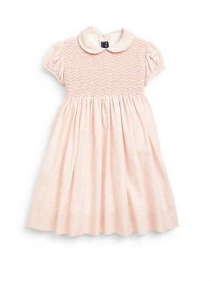 Oscar de la Renta Toddler's & Little Girl's Smocked Dress