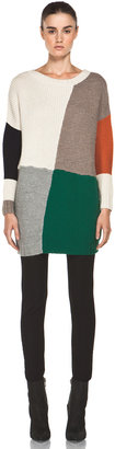 Boy By Band Of Outsiders Blanket Dropped Sleeve Sweater in Multi