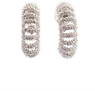 Balenciaga Bubble chain earrings