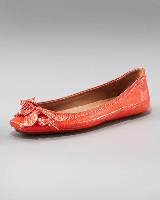 Elie Tahari Blythe Ballerina Flat