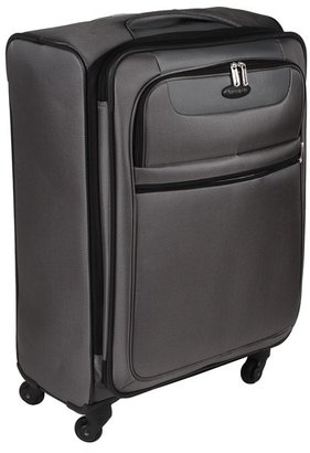 Samsonite L.I.F.T Softside Expandable Spinner 25 Case (Charcoal) - Bags and Luggage