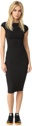 James Perse Sleeveless Tucked Dress $225 thestylecure.com