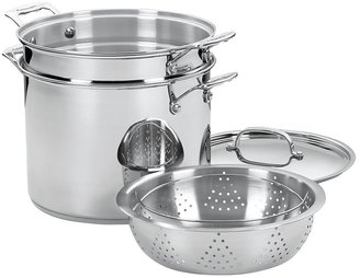 Cuisinart Chef's Classic 12 Quart Pasta/Steamer Set 4pc, Stainless Steel