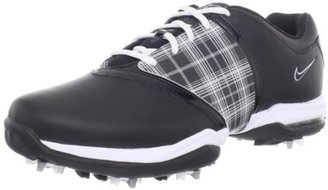 Nike Golf Women's Air Embellish Golf Shoe,Black/White,11 M US