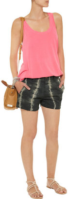 Current/Elliott The Smart tie-dye cotton-twill shorts