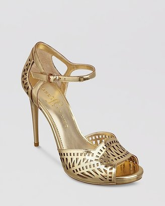 Ivanka Trump Ankle Strap Pumps - Ariell High Heel