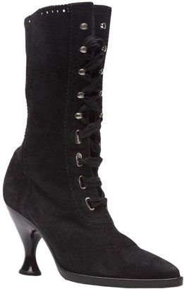 Jean Paul Gaultier Vintage Victorian inspired lace bootie