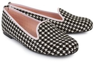 Pretty Ballerinas Houndstooth Slippers