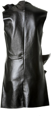 J.W.Anderson Faux Leather Double Airplane Dress