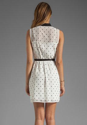 Erin Fetherston ERIN RUNWAY Claudine Dress in White/Black