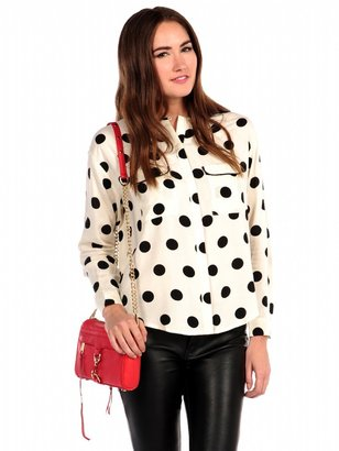 Marni Honey Punch Dot Blouse