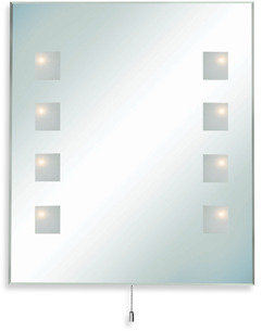 Bed Bath & Beyond Reflection Mirror with Halogen Lights