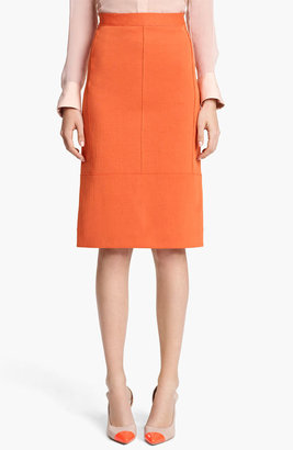 Reed Krakoff Seamed Jersey Skirt