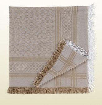 Gucci GG pattern shawl