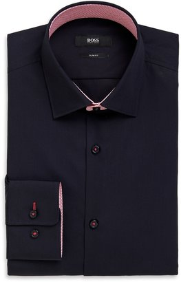 HUGO BOSS 'Juri' | Slim Fit, Point Collar Easy Iron Cotton Dress Shirt by BOSS