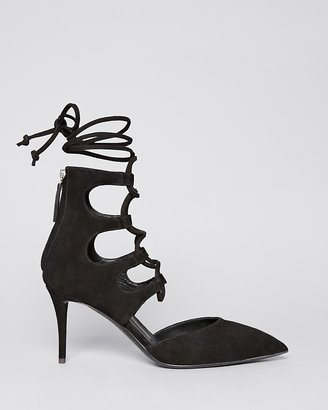 Giuseppe Zanotti Pointed Toe Pumps - Yvette High Heel