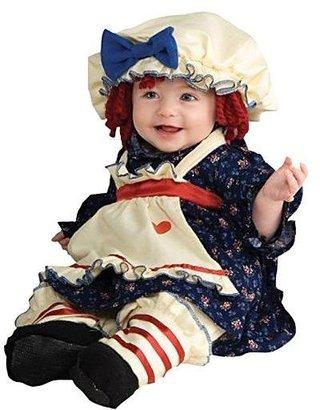 Rubie's Costume Co Yarn Babies Ragamuffin Dolly Costume-S (4-6)