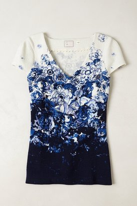 Anthropologie Viola Peplum Tee