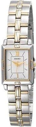 Seiko Women's SXGN46 Dress Two-Tone Watch $108 thestylecure.com