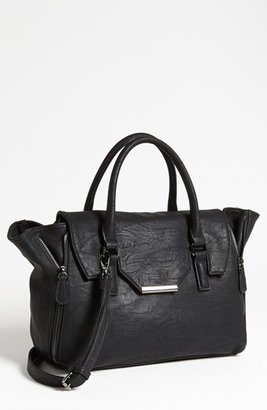 Expressions NYC Faux Leather Satchel