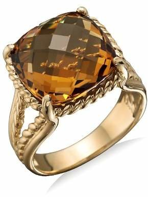 Bloomingdale's 14K Yellow Gold Citrine Ring - 100% Exclusive