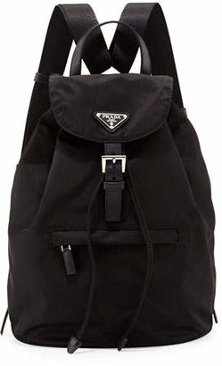 Prada Vela Single-Pocket Backpack