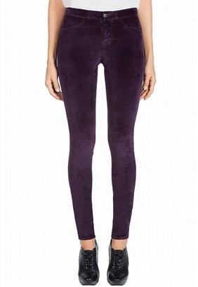 J Brand 815 Velvet Super Skinny Jean In Jaipur