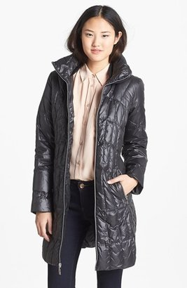 GUESS Quilted Scuba Coat (Online Only)