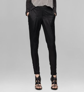 Helmut Lang Lacquered Cotton Trouser