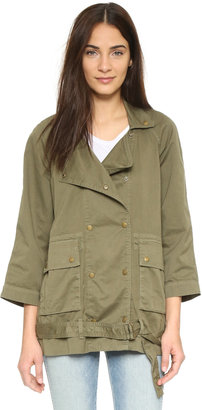 Current/Elliott The Infantry Jacket $268 thestylecure.com