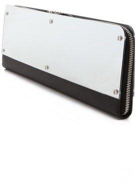 Maison Martin Margiela Leather Mirror Clutch