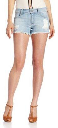 Siwy Women's Britt High Waist Cut Off Shorts In Wash