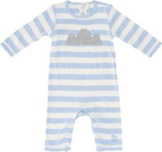 Bonnie Baby Knit-Cloud-Appliqué Playsuit
