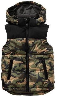 Gap Printed puff vest