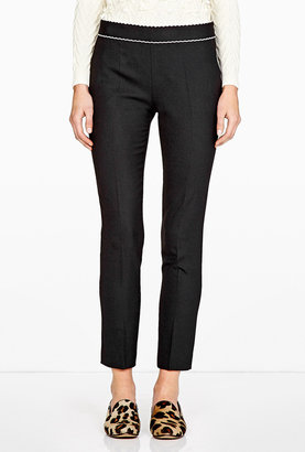 RED Valentino Cropped Slim Trousers