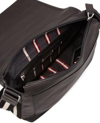 Bally Tepolt Men's Messenger Bag, Black